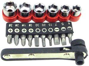 36 Piece Power Screwdriver Socket And Bit Set