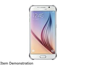 Samsung Galaxy S6 OEM Silver Clear Protective Cover (EF-QG920BSEGCA)