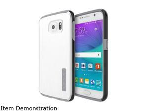 Incipio Samsung Galaxy S6 Dual PRO Shine Case - White / Light Grey