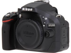 Nikon D5200 1501 Black DSLR - Body