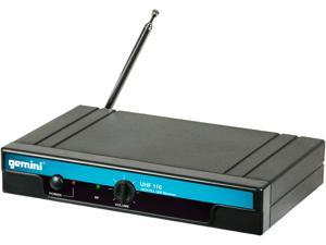 Gemini UHF-116HL UHF Headset/ Lav Wireless System UHF Handheld Wireless Mic System