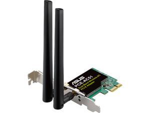 ASUS AC750 Wireless Dual Band PCI Express Adapter w/ 2 Antennas (PCE-AC51)