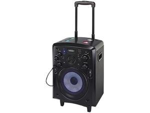 Jensen SMPS-900 Portable Bluetooth Tailgate & Trolley Speaker -Black