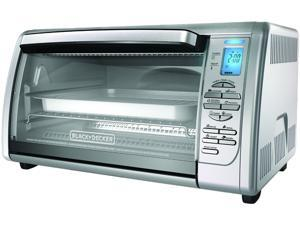 BLACK&DECKER CTO6335S Stainless Steel Countertop Convection Oven, Silver