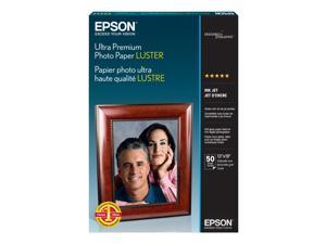 "EPSON S041407 13"" x 19"" 50 Sheets Ultra Premium Photo Paper"