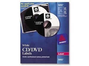 AVERY 5692 40 Labels CD / DVD Label