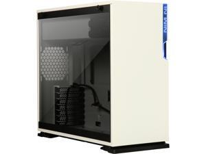IN WIN 101 White White SECC, ABS, PC, Tempered Glass ATX Mid Tower Computer Case Power Supply Compatibility