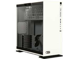 IN WIN 303C WHITE White SECC / Tempered Glass ATX Mid Tower Computer Case