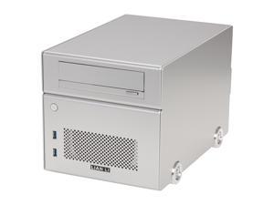 LIAN LI Silver PC-Q15A Mini ITX Media Center / HTPC Case
