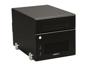 LIAN LI Black PC-Q15B Mini ITX Media Center / HTPC Case