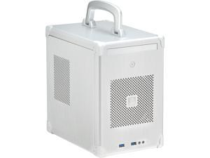 LIAN LI PC-TU100A Silver Aluminum Mini-ITX Tower Computer Case