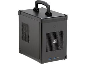 LIAN LI PC-TU100B Black Aluminum Mini-ITX Tower Computer Case