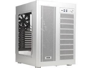 LIAN LI PC-D600WA Silver Aluminum ATX Full Tower Computer Case ATX PSU (Optional) Power Supply