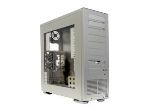 LIAN LI PC-75 Silver Computer Case With Side Panel Window