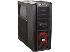 Cooler Master HAF 932 Advanced - High Air Flow Full Tower Computer Case with USB 3.0 and All-Black Interior