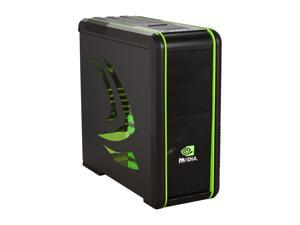 COOLER MASTER CM 690 II Advanced nVidia Edition NV-692A-KWN2 Black / Green Computer Case