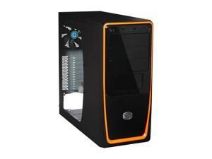 COOLER MASTER Elite 311 RC-311B-OWN1 Orange Computer Case With Side Panel Window