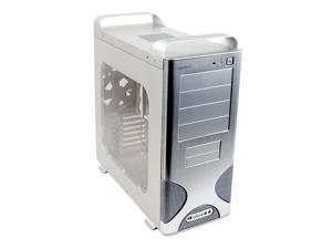 CHENBRO PC61566-SL-W Silver Computer Case With Side Panel Window