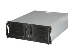 CHENBRO RM41300-F Black & Silver 1.2 mm SGCC 4U Rackmount Open-Bay Chassis