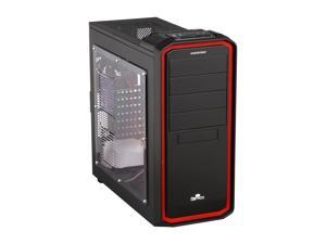 ENERMAX OSTROG ECA3253-BR Black/Red Computer Case With Side Panel Window