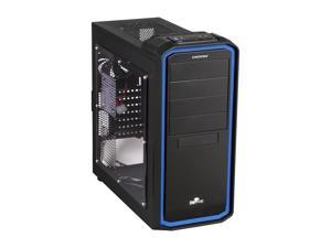ENERMAX OSTROG ECA3253-BL Black / Blue Computer Case With Side Panel Window