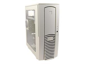 CHENMING 601AE-U-W Beige Computer Case With Side Panel Window