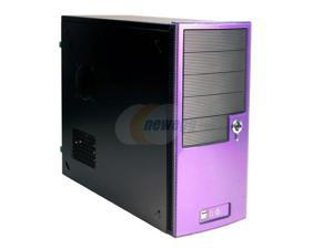 Ever Case GC4292P Black/Purple Computer Case
