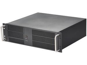 ARK IPC-3U380 Black 1.2mm SGCC 3U Rackmount Server Chassis