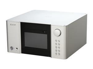 LUXA2 Black/Silver LM200 Touch Micro ATX Media Center / HTPC Case