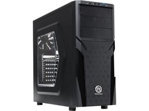 Thermaltake Versa H21/Black/Win/SECC Black SPCC ATX Mid Tower Computer Case (CA-1B2-00M1WN-00)