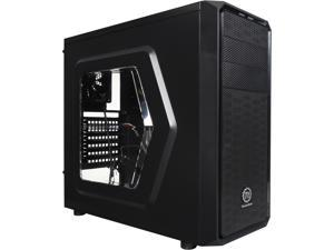 Thermaltake Versa H25 CA-1C2-00M1WN-00 Black w/ Window SPCC ATX Gaming Mid Tower Computer Case