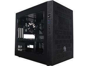 Thermaltake Core X1 Black Mini ITX Stackable Tt LCS Certified Cube Chassis CA-1D6-00S1WN-00