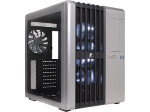 Corsair Carbide Series Air 540 CC-9011034-WLED Silver Steel ATX Cube Computer Case