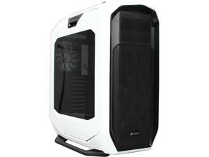 Corsair Graphite Series CC-9011059-WW Black / White Steel ATX Full Tower 780T Full Tower PC Case ATX (not included) Power Supply