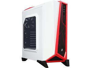 Corsair Carbide Series CC-9011083-WW White/Red SPEC-ALPHA Mid-Tower Gaming Case