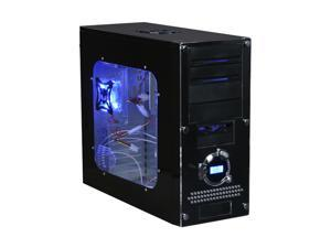 APEVIA X-Dreamer ATXB3KLW-BK/420W Black Computer Case With Side Panel Window