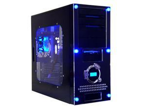 APEVIA X-Dreamer II ATXB4KLW-BK Black Computer Case With Side Panel Window