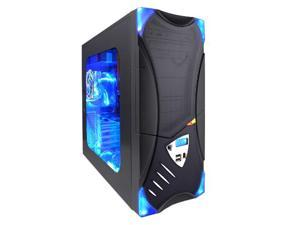 APEVIA X-Plorer ATXB8KLW-BK/420 Black Computer Case With Side Panel Window