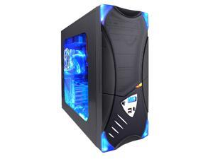 APEVIA X-Plorer ATXB8KLW-BK Black Computer Case With Side Panel Window