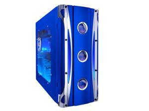APEVIA X-CRUISER-BL Blue Computer Case With Side Panel Window