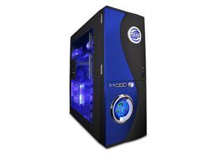 APEVIA X-Telsatr X-TELSTAR-BL Blue/ Black Computer Case