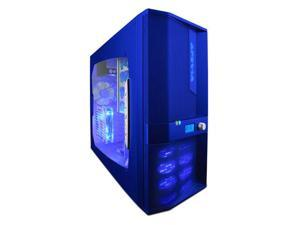 APEVIA X-JUPITER-JR G-Type X-JPJGT-BL Blue Computer Case With Side Panel Window