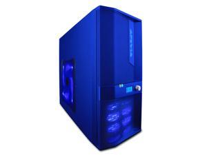 APEVIA X-JUPITER-JR S-Type X-JPJST-BL Blue Computer Case With Side Panel Window
