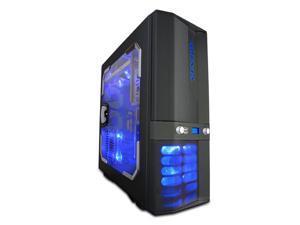 APEVIA X-JUPITER G-Type X-JUPITERG-MG Metallic Gray Computer Case With Side Panel Window