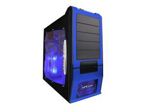 APEVIA X-SUPRA G-Type X-SUPRAG-BL Black / Blue Computer Case With Side Panel Window