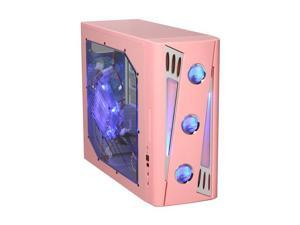 APEVIA X-CRUISER2-PK Pink Computer Case With Side Panel Window