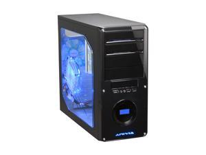APEVIA X-DREAMER3-BK Black Computer Case With Side Panel Window