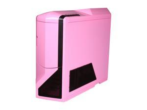 NZXT Phantom PHAN-003PK Pink Finish w/Black Trim Steel / Plastic Enthusiast ATX Full Tower Computer Case