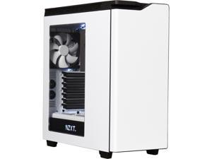 NEW NZXT H440 STEEL Mid Tower Case. Next Generation 5.25-less Design. Include 4 x 2nd Gen FN V2 Fans, High-End WC support, USB3.0, PWM Fan hub, White/Black