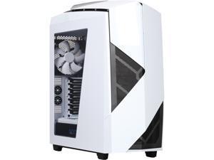 NZXT RB-CA-N450W-W1 White Steel / Plastic Computer Case